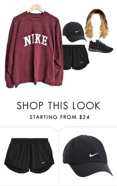 """""""even more gym love"""" by stylistcookies ❤ liked on Polyvore featuring NIKE"""