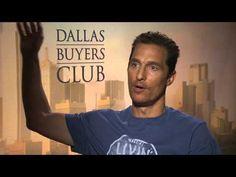 Matthew McConaughey talks about his new film, The Dallas Buyers Club