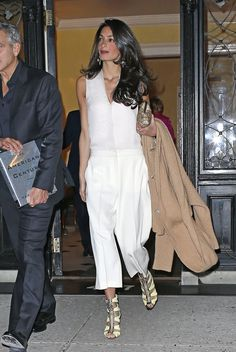 What: Versace sandals When: March 27, 2015 Where: New York City   - MarieClaire.com
