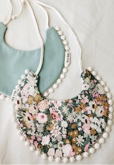 Handmade Boho Baby Bib | BillyBibs on Etsy