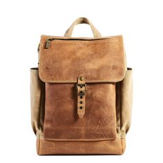 Sage Timber backpack with leather flap and pocket. Short Trip, Waxed Canvas, Travel Stuff, Everyday Carry, Travel Backpack, Leather Backpack, Trips, Vintage Fashion, Strong