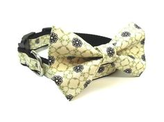 SooperTramp Dog Bow Tie Collar Astaire available at www.zoepetsupply.com