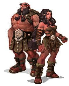 The physical aspect I want for the dwarf race of Tarnished Sun.