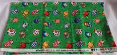 Michael Miller Cotton Fabric Tubby Cats Tossed 36 x 42 Kitties Quilt Stash #MichaelMiller