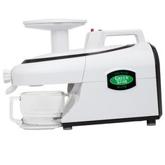 The Green Star GSE-5000 Elite Triturating Juicer. This bad boy is the top of the line (both quality & price-point) if you are serious about juicing, you may be in luck. In tests, the GSE has out-performed even the Norwalk Juicer.