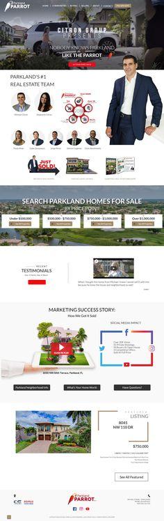 Custom Real Estate Web Design 1 Real, Selling Real Estate, Custom Design, Web Design, Design Web, Website Designs, Site Design