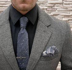 New Classic Pure Ties Brown Solid JACQUARD WOVEN Silk Men/'s Tie Necktie LT009