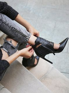 Dolce Vita Wild Hearts Heel at Free People Clothing Boutique