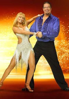 Kym Johnson and Penn Jillette in Dancing with the Stars 6