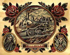 Traditional Tattoo Old School, Traditional Tattoo Design, Traditional Tattoo Flash, Traditional Ideas, American Traditional, Tattoo Flash Art, Tatoo Art, Skull Rose Tattoos, Body Art Tattoos