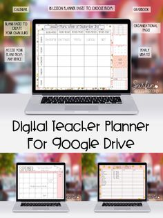Are you ready to move to digital lesson planning? This Blushing Pink digital planner can be accessed from any device using Google Drive. Easily add text, tables and graphics to customize your planner. Easily share plans and data with coleagues and administrators.