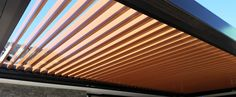 Black and Copper  200 Super Roof - LouvreTec Widest span available