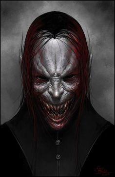 Vampire portrait finish by chris-anyma