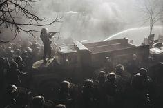 Максим Дондюк. Из серии Евромайдан: Культура конфронтации.
