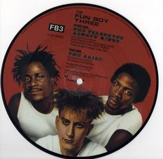 "FUN BOY THREE Telephone Always Rings 1982 uk 7"" 45 Picture Disc Vinyl Single pop ska mod 2 tone specials 80s chsp2609 Free Worlwide Shipping"