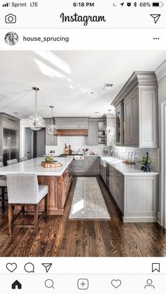 22 small kitchen remodel 00007 ⋆ All About Home Decor Kitchen Colors, Kitchen Decor, Kitchen Design, Kitchen Ideas, Kitchen Trends, Kitchen Inspiration, Kitchen Furniture, Wood Furniture, Modern Kitchen Cabinets