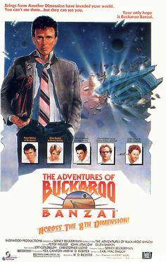 - of buckaroo banzai 1984 movie poster 80s Movie Posters, Sci Fi Movies, Good Movies, Awesome Movies, Latest Movie Trailers, Latest Movies, 1984 Movie, Movie Tv, Star Trek Iii
