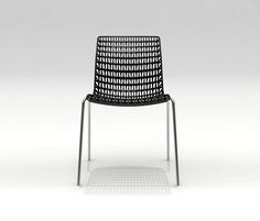 Moiré chair - Visitors chairs / Side chairs by MOVISI | Architonic