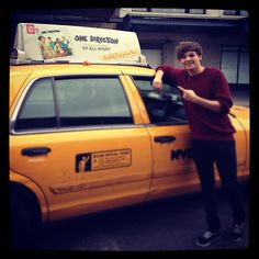 @One Direction cab.