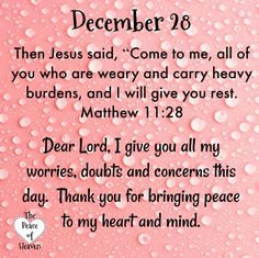 December 28 – The Peace of Heaven Psalms Quotes, Jesus Quotes, Daily Scripture, Daily Devotional, Bible Scriptures, Welcome December Quotes, Christmas Bible Verses, Christmas Quotes, Christmas Greetings