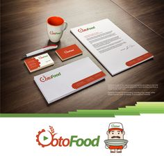 Otofood branding materials