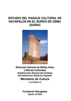 Min cultura 2004 estudio navapalos