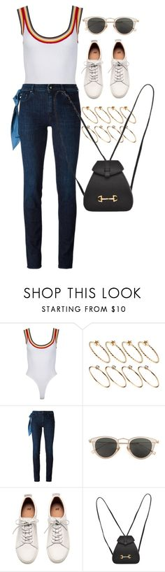 """Untitled #10625"" by nikka-phillips ❤ liked on Polyvore featuring ASOS, Seed Design, Jacob Cohёn, Issey Miyake, H&M and Gucci"