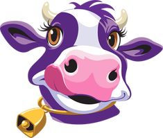 Shop True Goodness Organic, Purple Cow and more Meijer brand favorites, all at low Meijer prices. Cow Cartoon Images, Cartoon Cow, Cute Baby Cow, Cute Cows, Painting Patterns, Fabric Painting, Toro Vector, Bed Quilt Patterns, Paintings