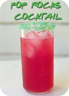 Pop Rocks Cocktail | 29 Essentials For Throwing A Totally Awesome '90s Party