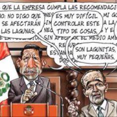 El trazo de Carlin sobre el Conga va y la replica de Roque Benavides