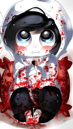 Chibi Jeff The Killer ♥ omnomnom!!:
