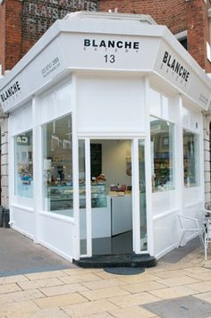 Blanche Eatery | London  ... cute and looks like delicious being served :-)