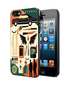 Supernatural Items Samsung Galaxy S3 S4 S5 Note 3 Case, Iphone 4 4S 5 5S 5C Case, Ipod Touch 4 5 Case