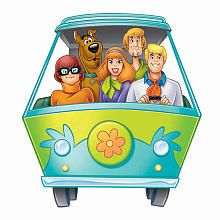 Scooby Doo Mystery Machine Peel and Stick Giant Wall Decal - kids' room Desenho Do Scooby Doo, Scooby Doo Images, Scooby Doo Mystery Inc, Sylvester The Cat, Wallpaper Animes, Old School Cartoons, Cartoon Characters, Wall Decals, Wall Art