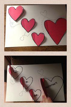 My valentines day card to bf's mom from us both - San Valentin Regalos Caja Handmade Birthday Cards, Diy Birthday, Greeting Cards Handmade, Diy Gift Box, Diy Gifts, Mother's Day Diy, Card Box Wedding, Valentine Day Crafts, Love Cards