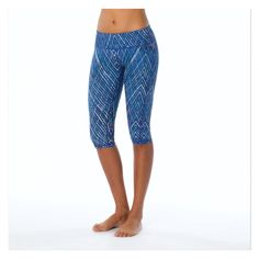prAna Maison Knickers $60, Re-Pin to Win! #bluesign #yoga #fitness #recycled