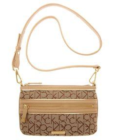 Calvin Klein Handbag, Exclusive Signature Crossbody Bag - Calvin Klein - Handbags & Accessories - Macy's, have the same one :)