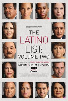 HBO The Latino List Volume II. Wonderful documentary!