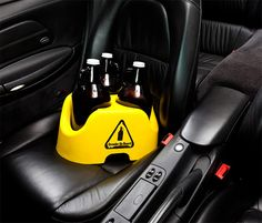 Growler on Board    For the avid craft brew drinker, loose growlers are a common problem.