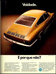 1973 VW Karmann-Ghia TC - Brasil