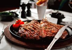 Beautiful steak at Gillray's Steakhouse