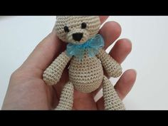 How to Crochet a Teddy Bear Video 2 - YouTube