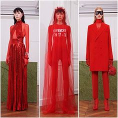 @givenchyofficial just shows us how to wear red. #ellevn #ellevietnam #fashion  via ELLE VIETNAM MAGAZINE OFFICIAL INSTAGRAM - Fashion Campaigns  Haute Couture  Advertising  Editorial Photography  Magazine Cover Designs  Supermodels  Runway Models