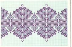 Looks great on Monk Swedish Embroidery, Hardanger Embroidery, Types Of Embroidery, Cross Stitch Embroidery, Embroidery Patterns, Hand Embroidery, Cross Stitch Patterns, Cross Stitches, Loom Patterns