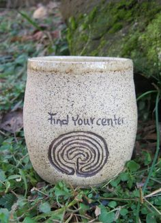 The purpose of a maze is to find the center, the purpose of a Labyrinth is to find your center...www.windingrdstudio.com