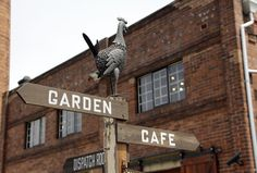 The Grounds of Alexandria is located in a reformed industrial area. Go here for the best coffee in Sydney.