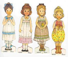 the ginghams paper dolls @Kristi Newton and @Regena Cox Way... MEMORIES!!! :)