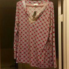 Ann Taylor Loft Tunic Size L Beautiful Tunic Ann Taylor Tops Tunics