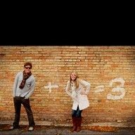this would be a cute baby announcement for anyone lol