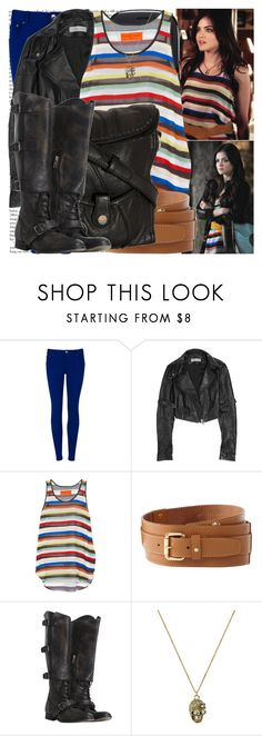 """""""picture this."""" by valerieking ❤ liked on Polyvore featuring Ted Baker, Microsoft, Preen, Clover Canyon, Linea Weekend, AllSaints, Miso, stripes, skinny jeans and skinny pants"""